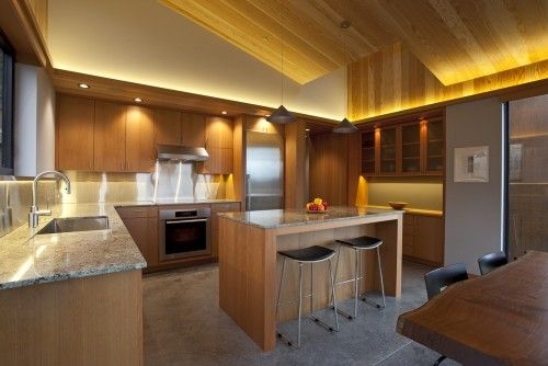 Sea Ranch Vacation Home Retreat - contemporary - kitchen - san