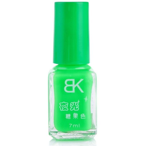 7ml bNoctilucent Fluorescent Lacquer Neon Glow In Dark Nail Polish ...
