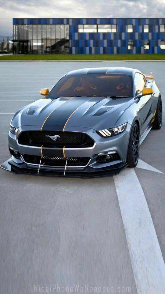 2015 Ford Mustang IPhone 5 Wallpaper And Background
