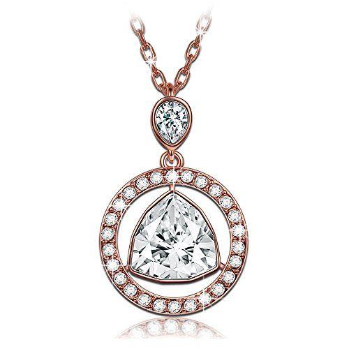 51a71e049045 Sedmart Tree of life pendant Amethyst Rose Crystal Necklace Gemstone ...