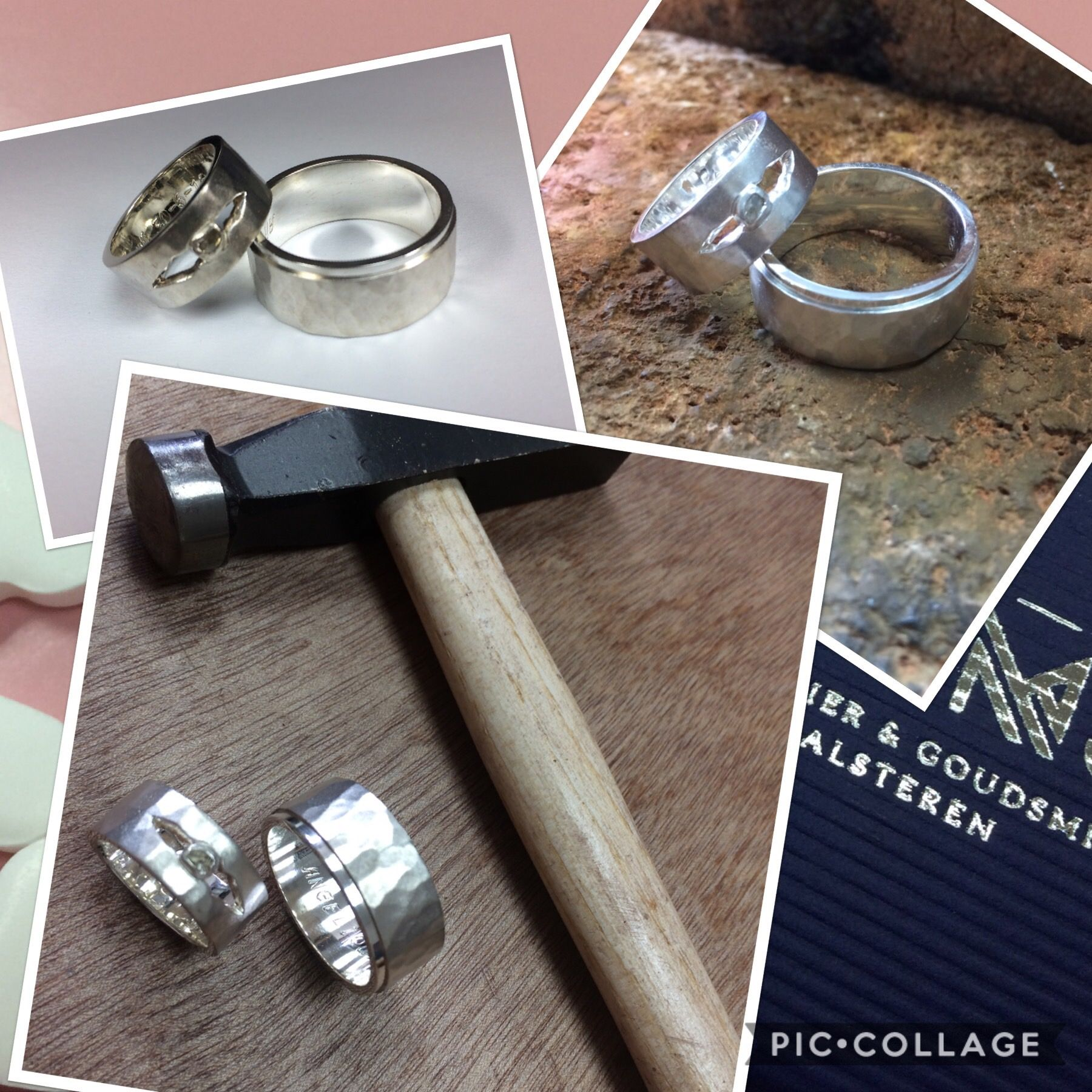 Pin Van Juwelier Goudsmid Ooms Op Ringen In 2019 Unieke