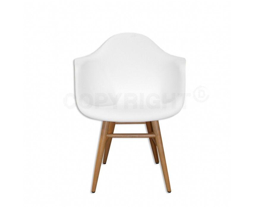 Label design arm hh stoel wit eetkamerstoelen stoelen