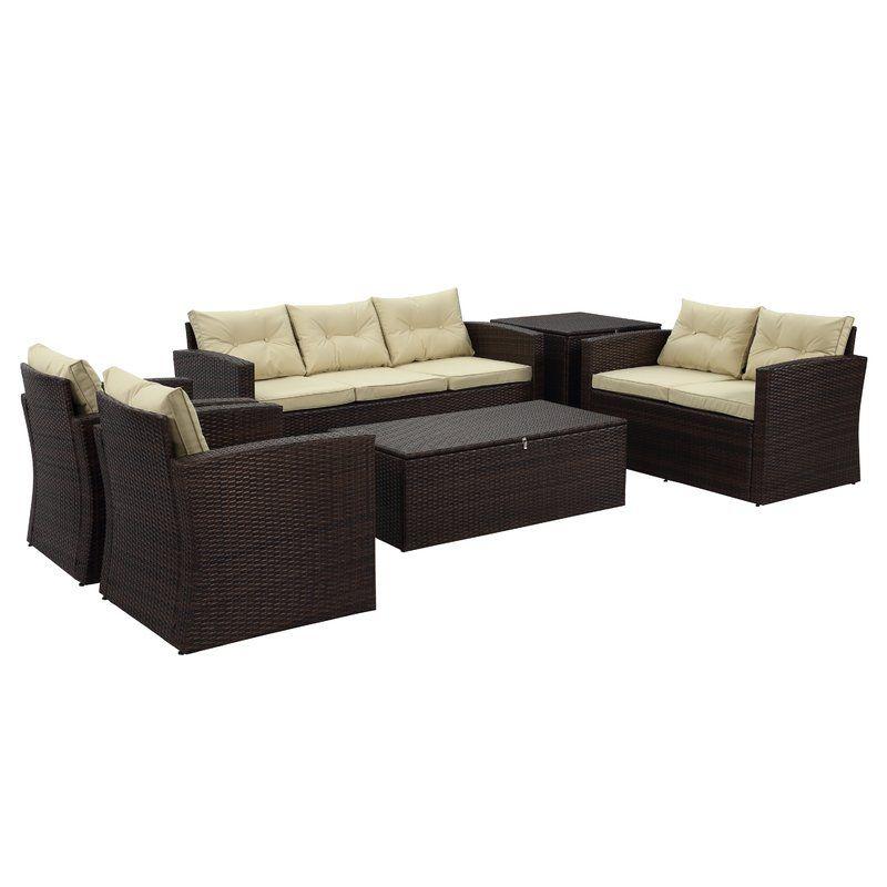 arlington 6 piece sofa seating group with cushions kim s deck and rh pinterest com