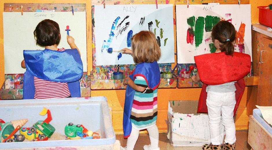 Children S Creative Corner Escolar Pinterest Child Nursery School