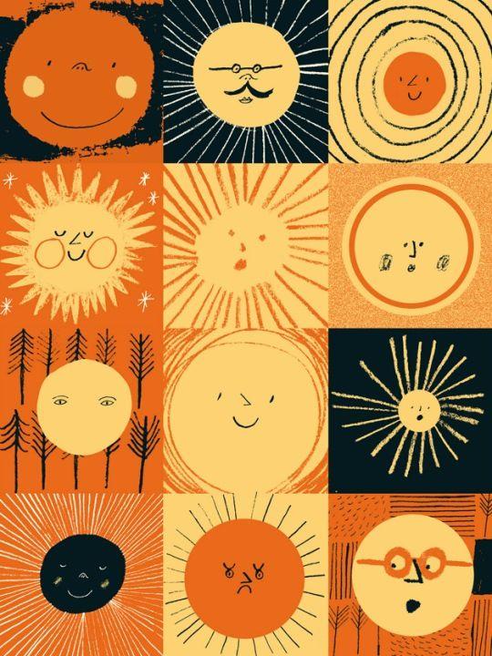 Suns Drawings -Rob Hodgson's Illustrations