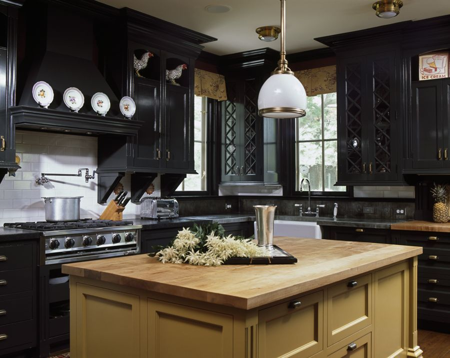 21 inspiring ideas for black kitchen cabinets in 2019 amazing rh pinterest com