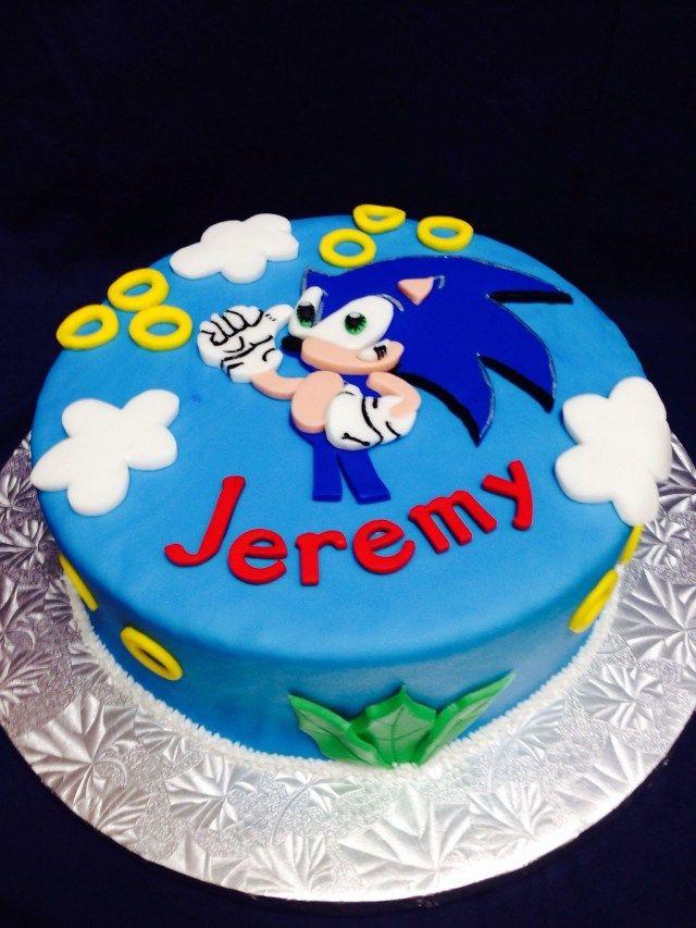 Sensational 21 Amazing Photo Of Sonic Birthday Cakes Traktaties Verjaardag Personalised Birthday Cards Xaembasilily Jamesorg
