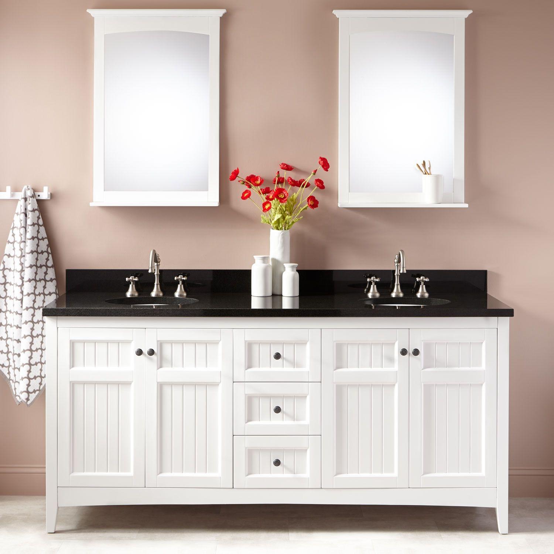 72 alvelo double vanity for undermount sinks white master bath rh pinterest com