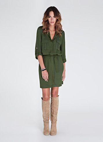 Cameron Cargo Dress   Dresses   Baukjen