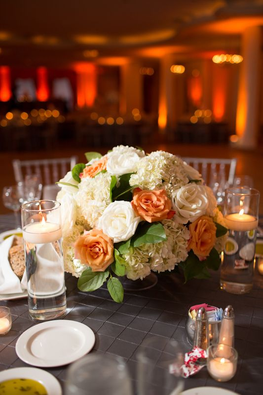 orange and white wedding centerpieces 275x412 washington dc wedding rh pinterest com