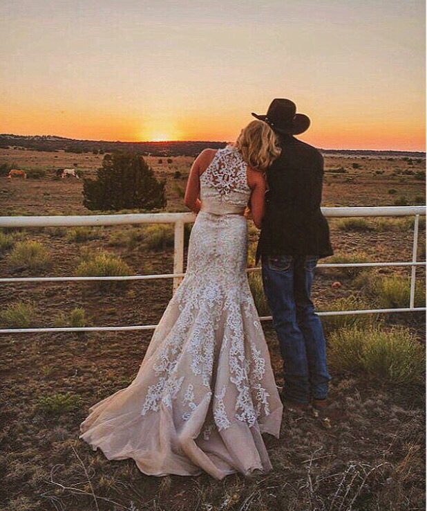 Cowboy Cowgirl Wedding Ideas: This Is So My Wedding Picture.