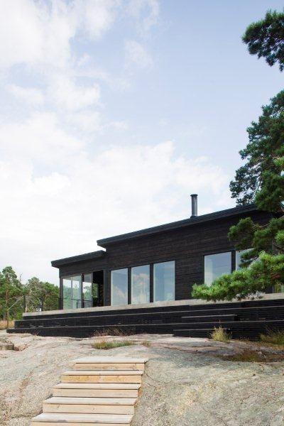 Affords more outdoor space/roof usage Unelmien talo Pinterest
