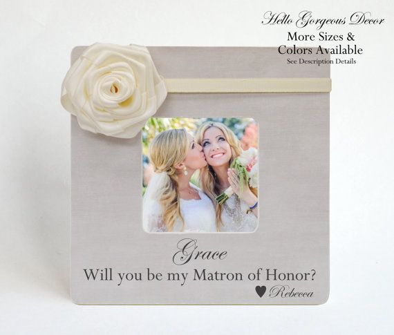 Matron Of Honor Proposal Sister Ask Will You Be My Matron