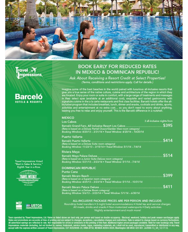 Book Early For Reduced Rates At Barcelo Hotels Resorts In Mexico And Dominican Republic Hotels And Resorts Mexico Resorts Los Cabos Mexico