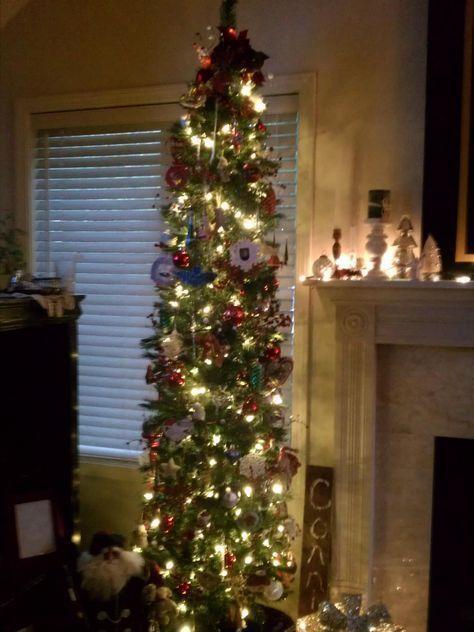 Trendy Tall Skinny Christmas Tree Ideas Holidays Ideas # ...