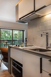 Cet appartement de 50m2 au design moderne et décontracté est destiné à la lo