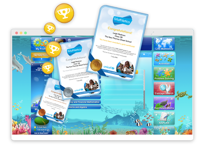 Mathletics For Primary Students Rewards Online Math Online