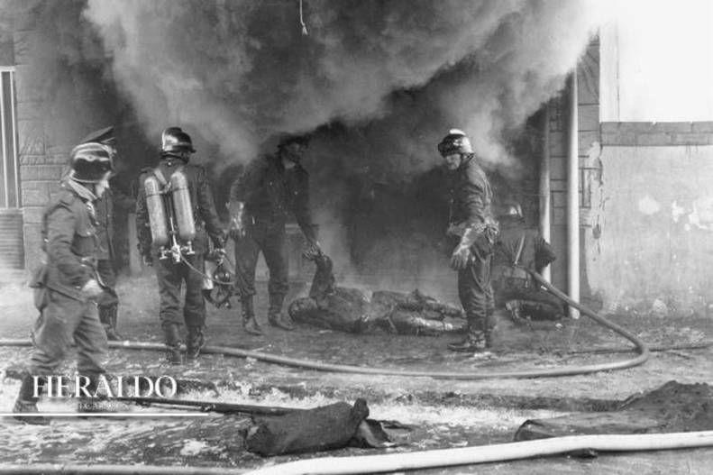 Tragedia en zaragoza minutos despu s de que entraran a trabajar el d a 11 de diciembre de 1973 - Persianas aragon ...