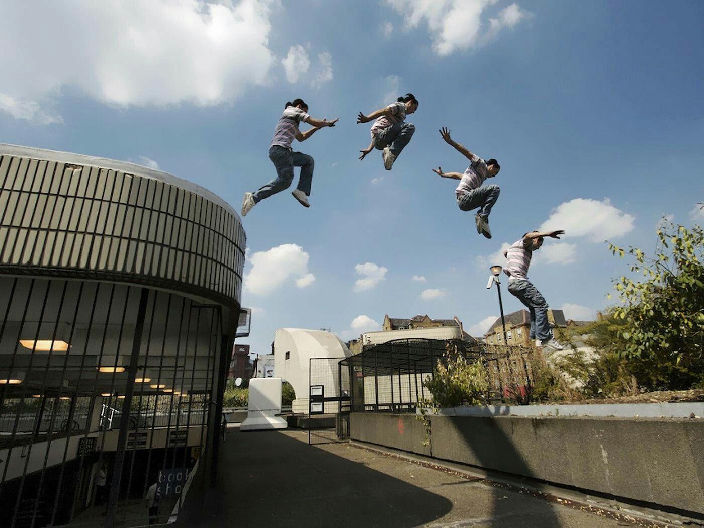 Parkour Jumping (mit Bildern) Parkour