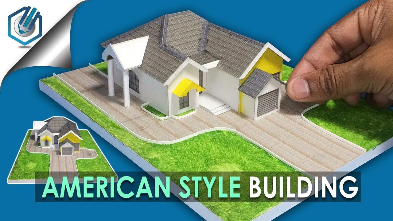 AMERICAN STYLE BUILDING, MODEL MAKING   YouTube