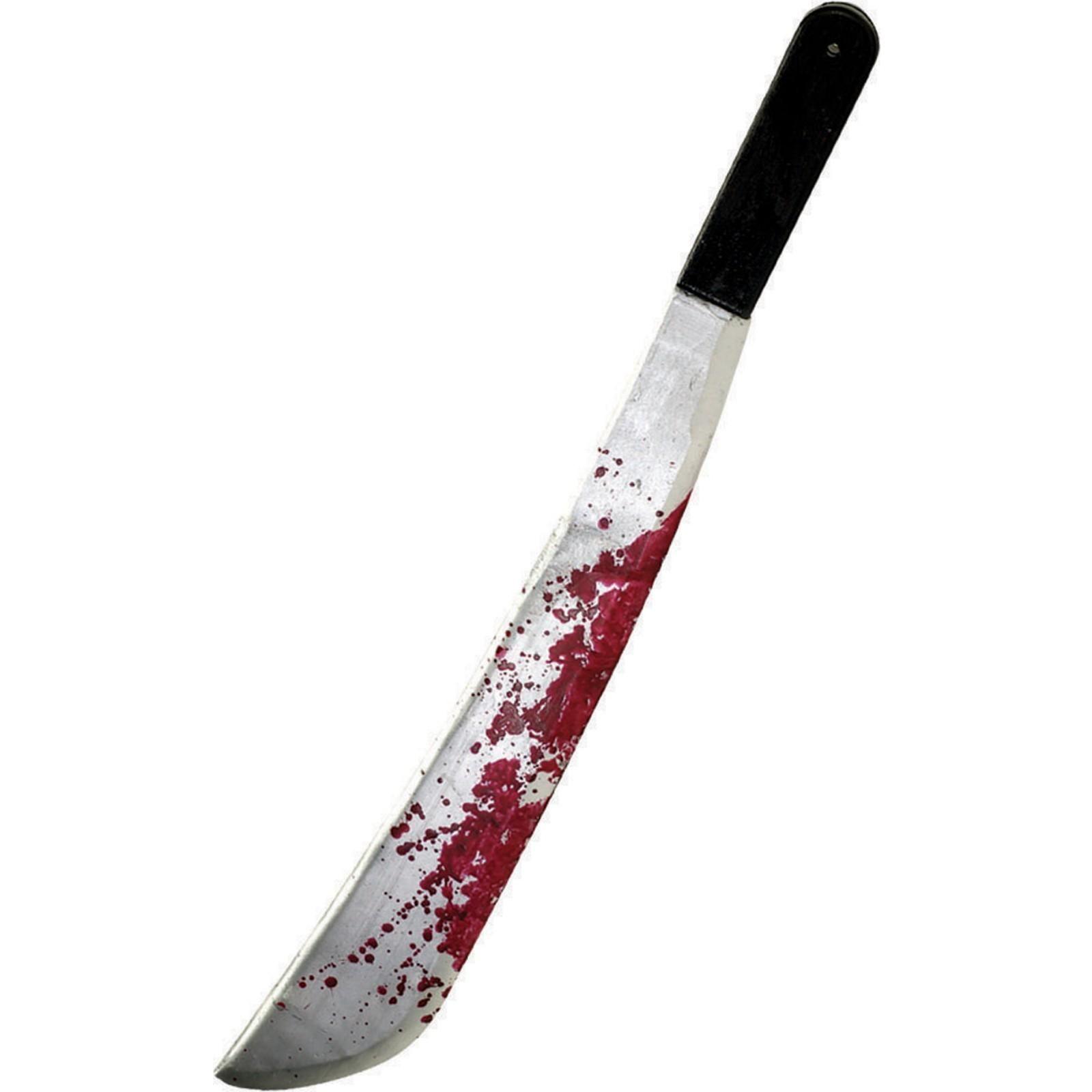 Plastic Machete Halloween Weapon Accessory