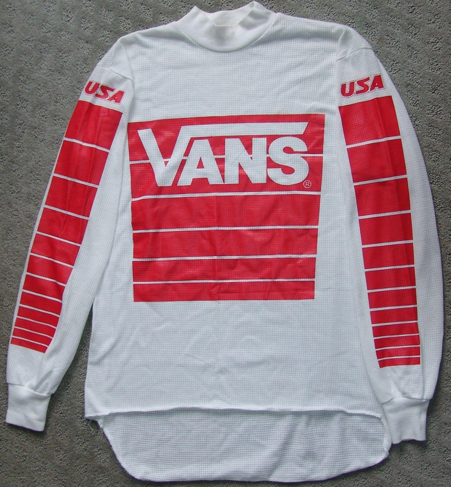 vans jersey