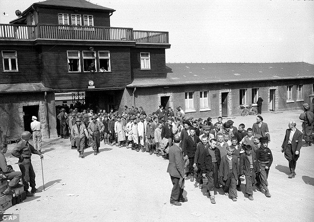 Image result for nazi concentration camp buchenwald is liberated