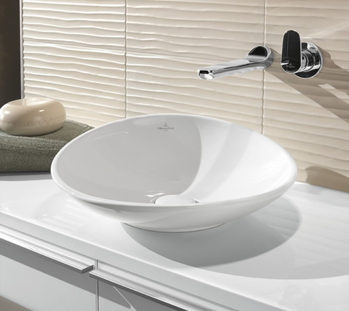 Piastrelle Villeroy Boch.Villeroy Boch My Nature Surface Mounted Basin Bathroom
