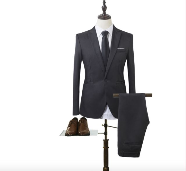 Men Slim Fit New Designs Coat and Pant Suit Brand new Size ...