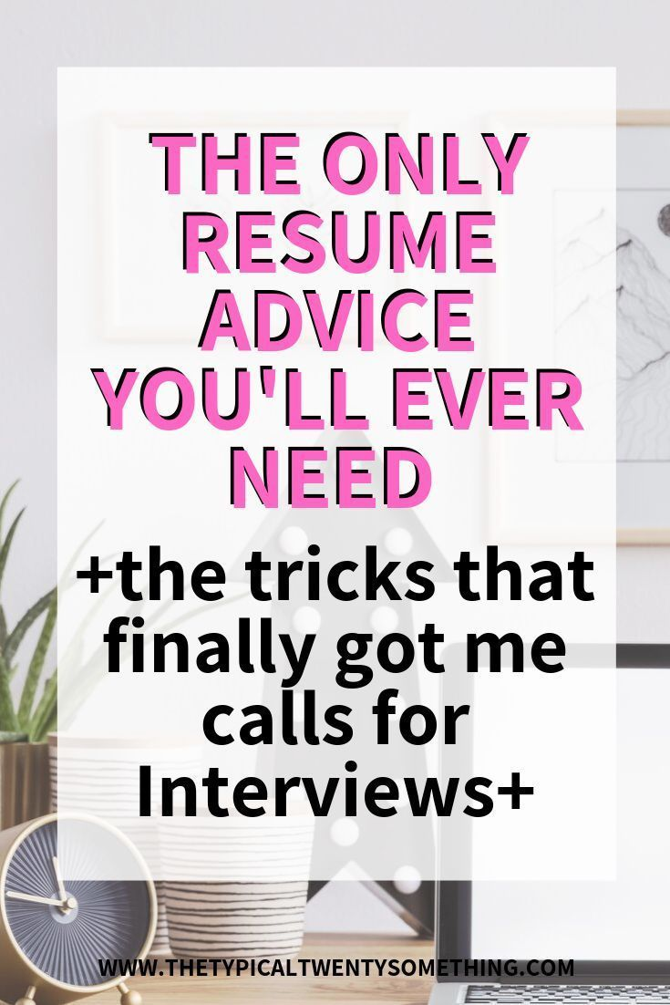 Resume Tricks And Hacks That Will Get You In the Door For Your Next Job