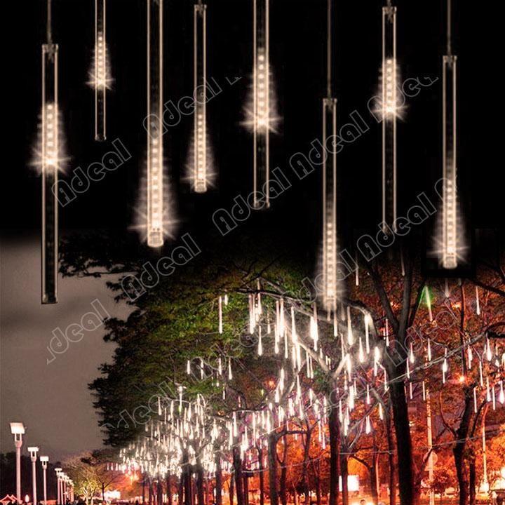50CM Meteor Shower Rain Tubes LED Light For Christmas Wedding Garden