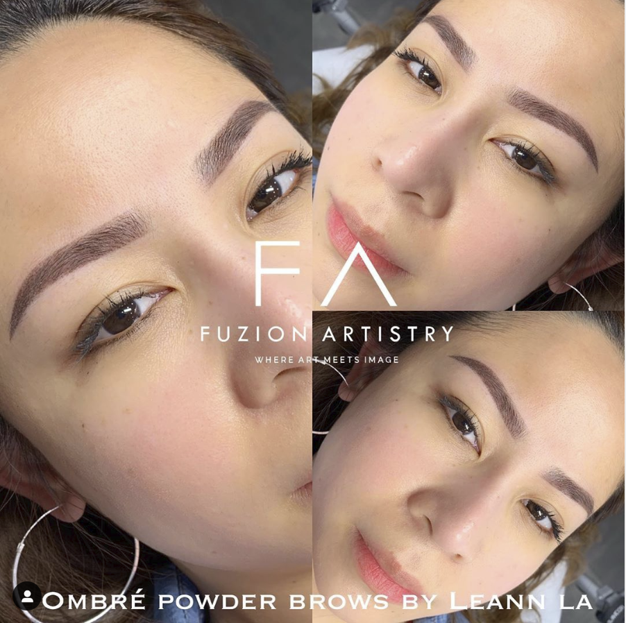 Ombré Powder Brow Lashes makeup, Permanent makeup, Best