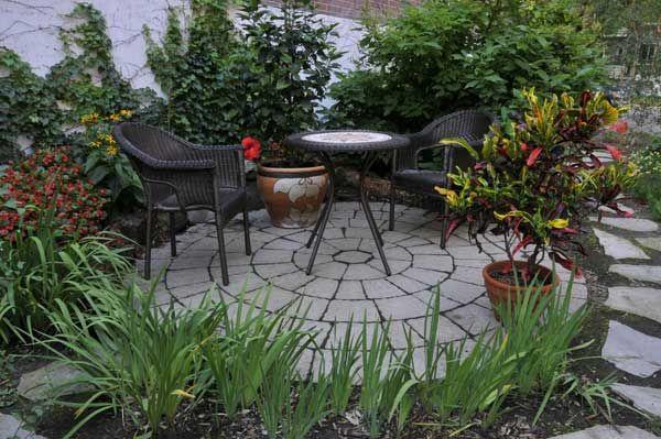 jardines pequeños decoracion - Buscar con Google Paisajismo - decoracion de jardines