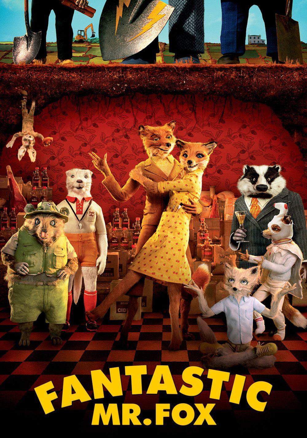 Fantastic Mr Fox Movie Poster Image Fantastic Mr Fox Fox Poster Fox