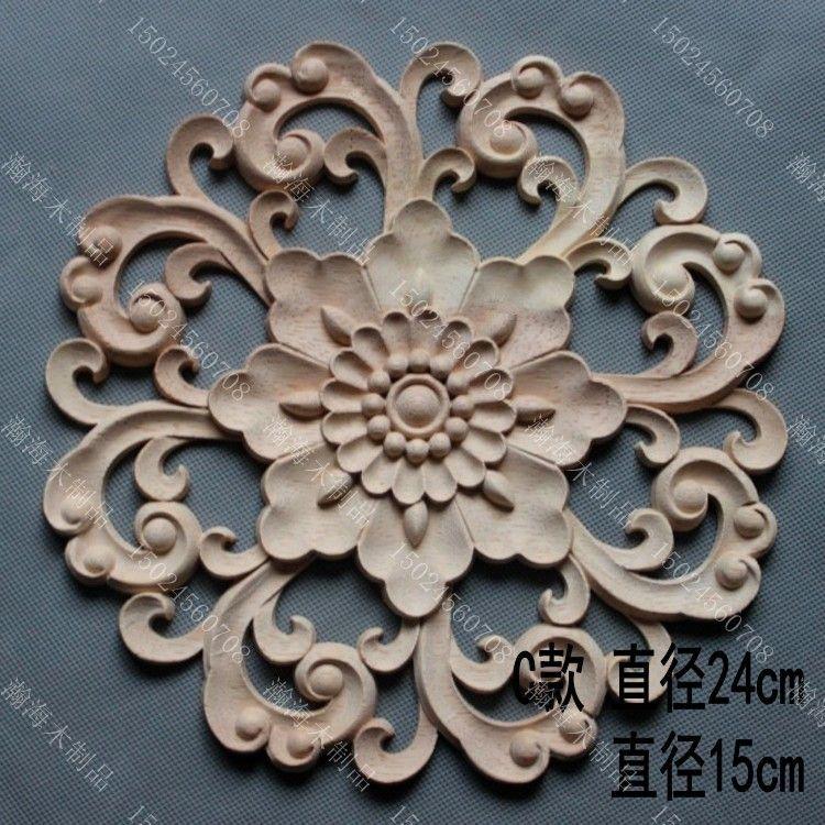 Kitchen Cabinet Appliques: Circle Door Decoration Applique Fashion Furniture Cabinet