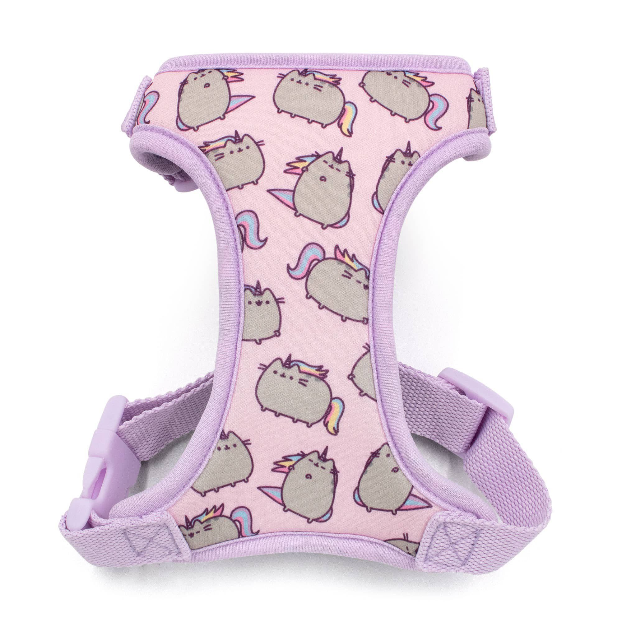 Pusheen Pink Adjustable Cat Harness With Leash Medium Petco Cat Harness Pink Pusheen Pusheen