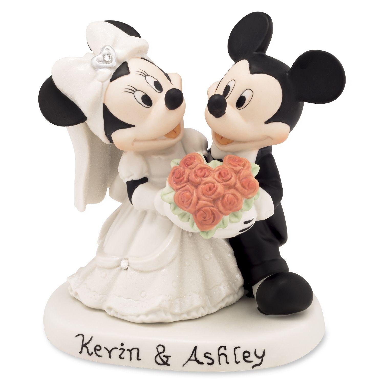 Disney showcase mickey and minnie wedding figurine