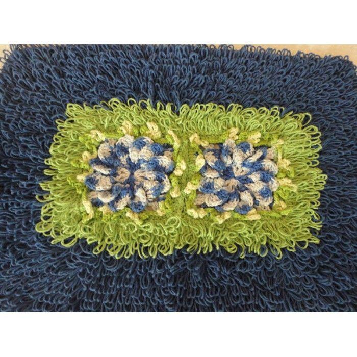 lã para fazer tapete de ponto argola - Pesquisa Google