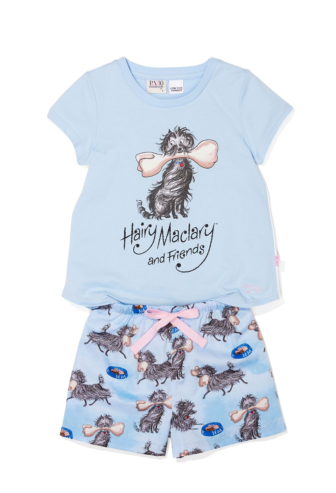 5ccfac68c8c9 Peter Alexander Hairy Maclary Jnr. Girl's and Boys Sleepwear Set ...