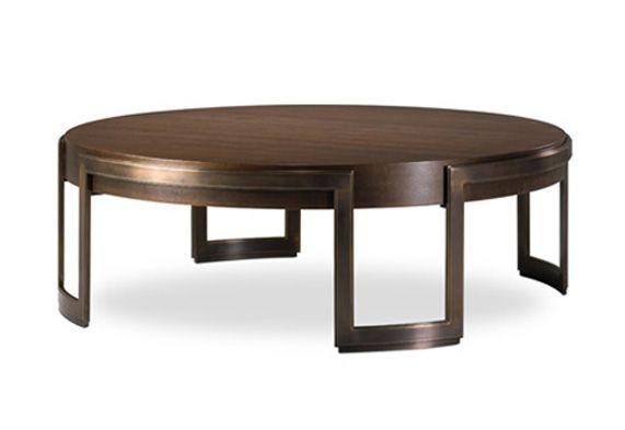 Jacques Cocktail Table / Metal Base Option Joseph Jeup