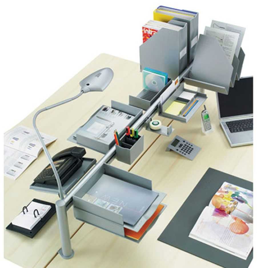 Creative Fun Desk Accessories Design Dualis For Office Desk Accessories By Magnuson Group Inc With Images Cool Office Desk Cool Desk Accessories Desk Accessories Office