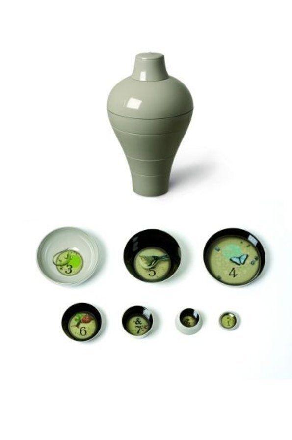 Helemaal super is deze Ming vaas van Ibride. Mooi object om naar te kijken maar perfect te gebruiken als aparte kommetjes (vaatwasbestendig).