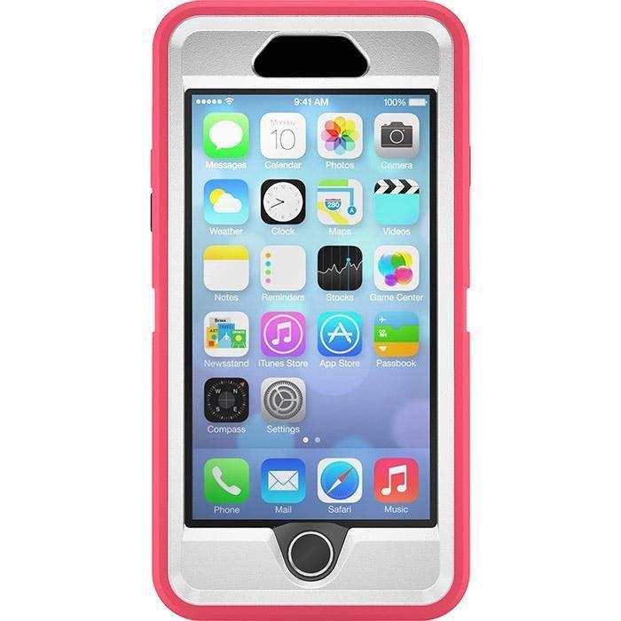 Otterbox Iphone 6 6s Defender Case Neon Rose