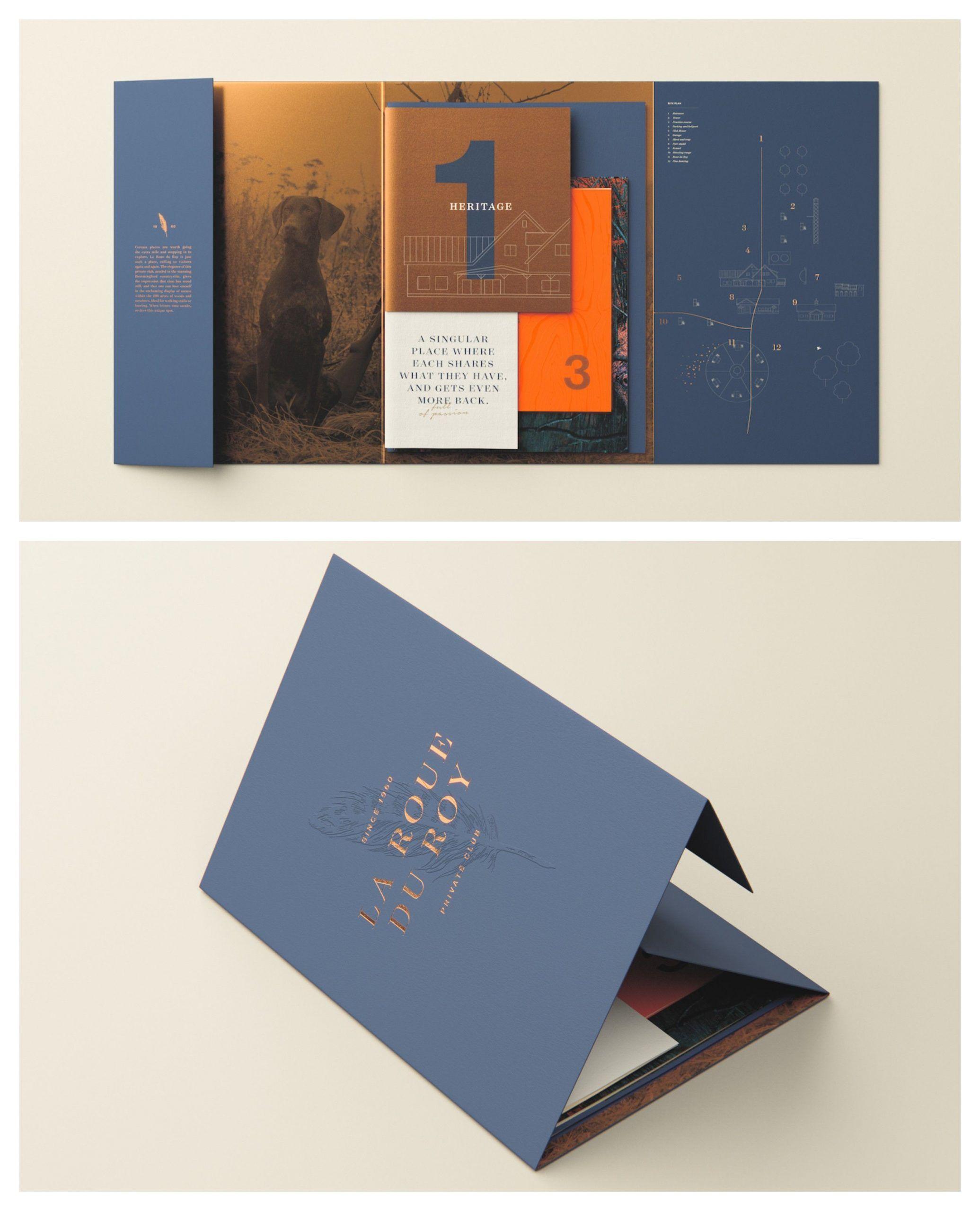 Beispiel Fur Eine Verkaufsbroschure Von La Roue Du Roy Beispiele Fur Eine Venngage Broschu In 2020 Brochure Design Creative Graphic Design Brochure Creative Brochure