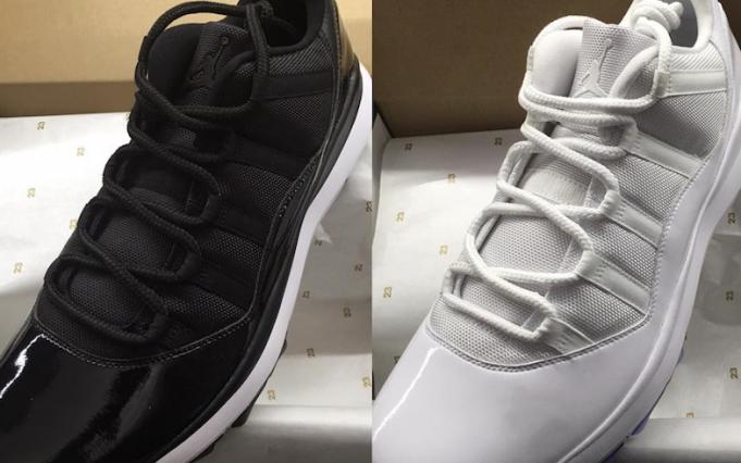 547660485462ce Quick Look at The Air Jordan 11 Golf Shoes – Jordan release Dates ...