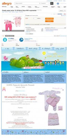 Szablony Aukcji Internetowych Allegro Map Dres Map Screenshot