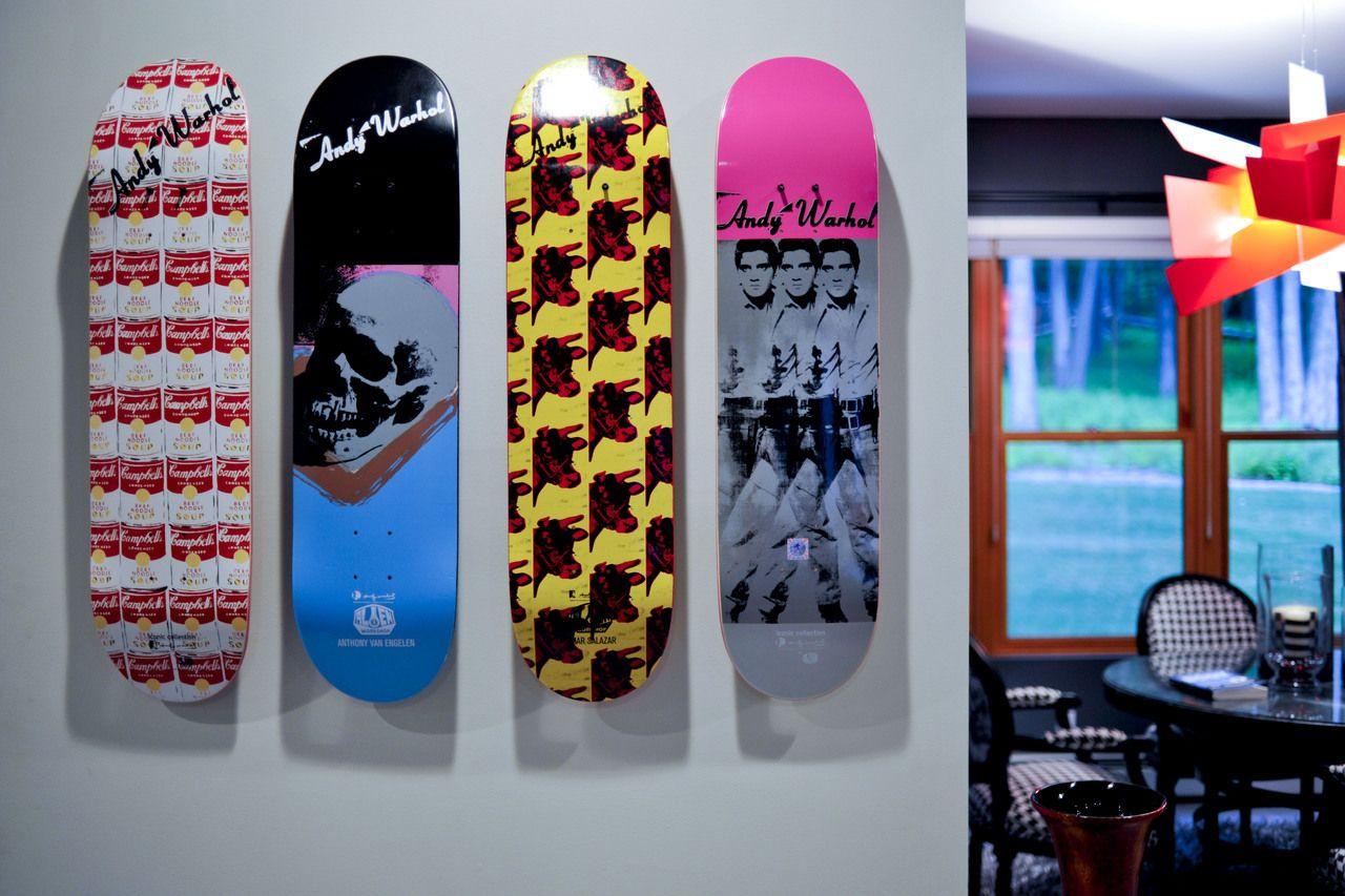 Skateboard Art Deck Display Mount Skateboard Wall Art Skateboard Decor Skateboard Display