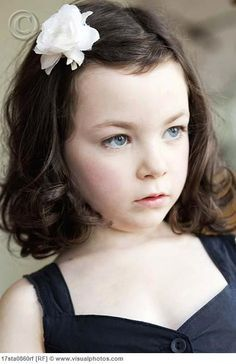 Cute Hairstyles For Girls With Short Hair Mesmerizing Creative Short Hairstyles For Little Girls In Adorable Curly Wavy