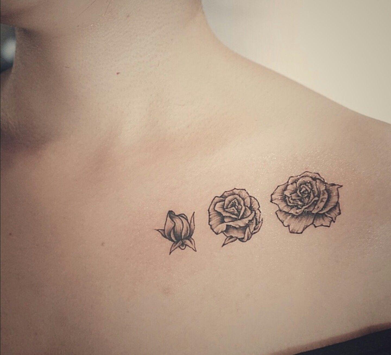 Blooming Flower Tattoo Tattoos Waist Tattoos Small Rose Tattoo