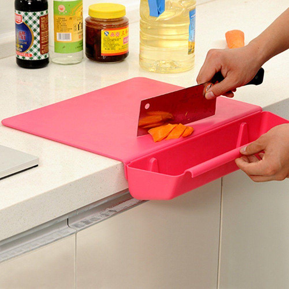 Compra Creative plegable Tabla de cortar antibacteriana de cortar ...